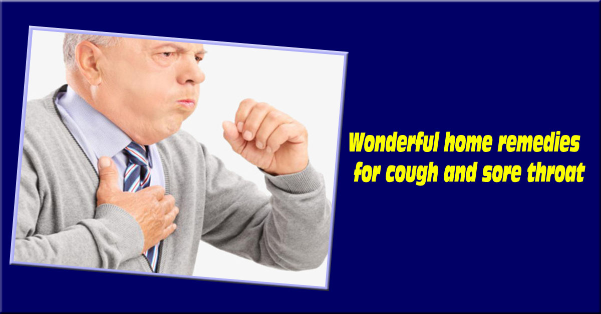 home remedies for cough and sore throat